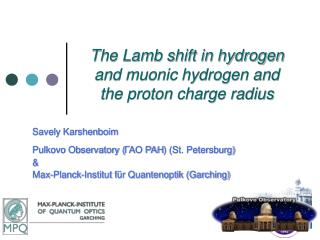 The Lamb shift in hydrogen and muonic hydrogen and the proton charge radius