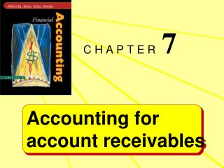 Accounting for  account receivables