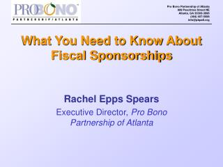 What You Need to Know About Fiscal Sponsorships