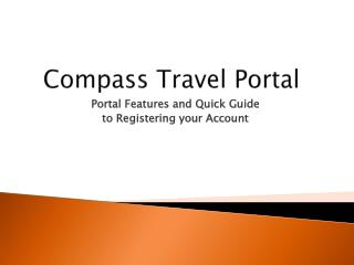 Compass Travel Portal