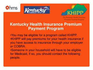 Kentucky Health Insurance Premium Payment Program