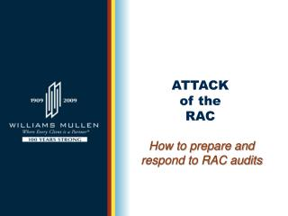 ATTACK  of the  RAC