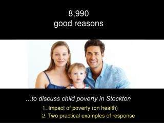 …to discuss child poverty in Stockton