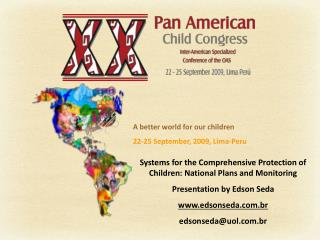 Systems for the Comprehensive Protection of Children:  National Plans and Monitoring