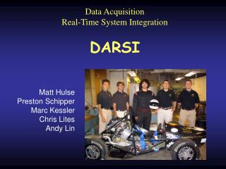 Data Acquisition Real-Time System Integration DARSI