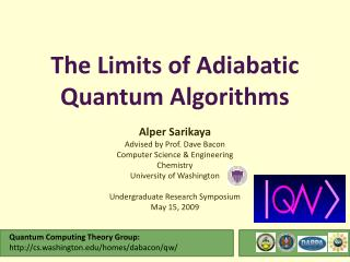 The Limits of Adiabatic Quantum Algorithms