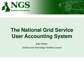 The National Grid Service User Accounting System