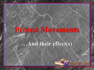 Protest Movements