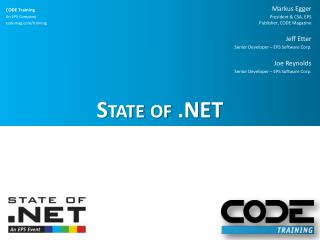 State of .NET