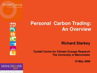 Personal  Carbon Trading: An Overview