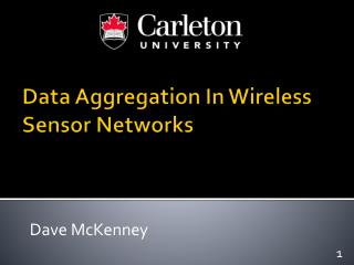 Data Aggregation In Wireless Sensor Networks