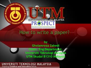 How to write a paper?