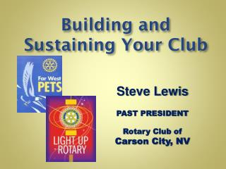 Building and Sustaining Your Club