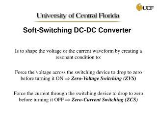 Soft-Switching DC-DC Converter