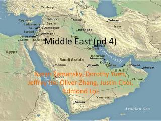 Middle East ( pd  4)