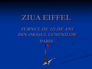 ZIUA EIFFEL