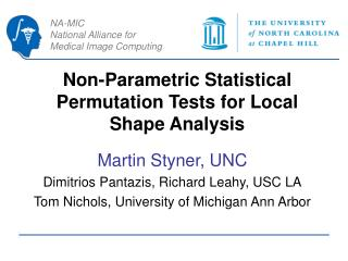 Non-Parametric Statistical Permutation Tests for Local Shape Analysis
