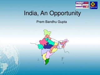 India, An Opportunity
