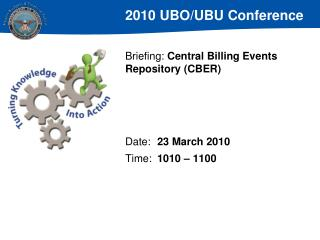 Briefing:  Central Billing Events Repository (CBER)