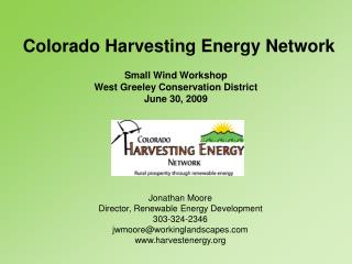 Colorado Harvesting Energy Network