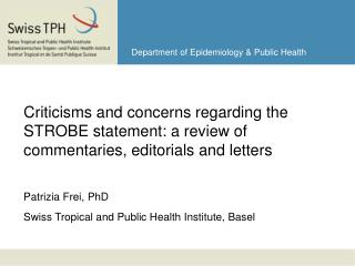 Department of Epidemiology & Public Health