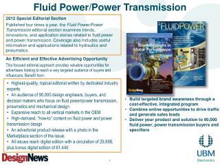 Fluid Power/Power Transmission