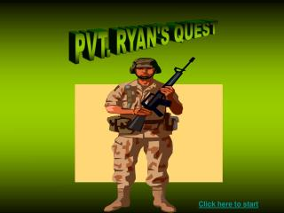PVT. RYAN'S QUEST