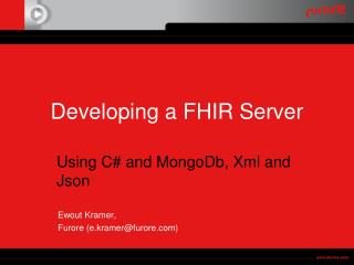 Developing a FHIR Server