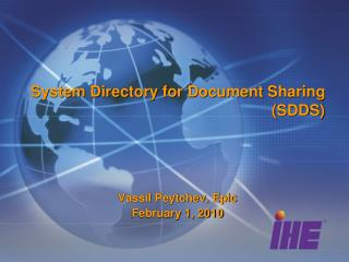 System Directory for Document Sharing (SDDS)