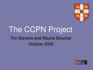 The CCPN Project