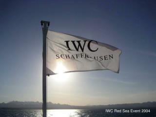 IWC Red Sea Event 2004