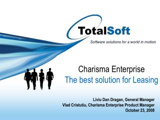 Charisma Enterprise The best solution for Leasing