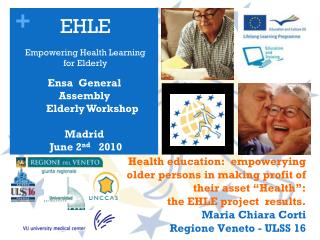 EHLE   Empowering Health Learning for Elderly