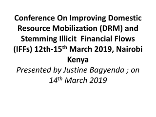 Mobilizing Public Finance and Managing Natural Resource Revenues