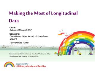 Making the Most of Longitudinal Data
