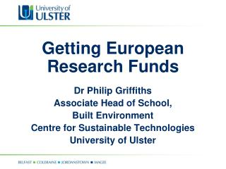 Getting European Research Funds