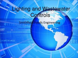 Lighting and Wastewater  Controls
