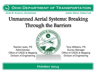 Unmanned Aerial Systems: Breaking Through the Barriers