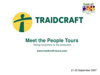 Meet the People Tours   Taking customers to the producers traidcraft-tours