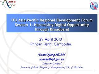 Doan  Quang  HOAN hoandq@rfd.vn Director General
