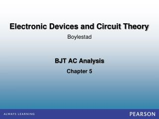 BJT AC Analysis