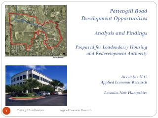 Pettengill Road Development Opportunities Analysis  and Findings