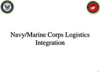 Navy/Marine Corps Logistics Integration