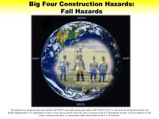Big Four Construction Hazards: Fall Hazards