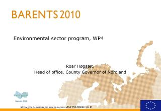 Environmental sector program, WP4