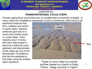 CHAPTER 23: TRANSPORTATIONAL CYCLIC STEPS