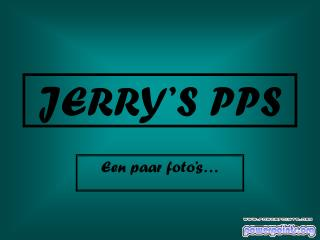 JERRY'S  PPS