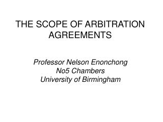 "All disputes arising ""under"", ""from"", ""out of"" or ""in connection with"" this agreement""."