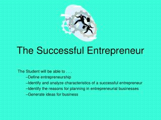 The Successful Entrepreneur