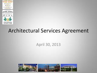 Architectural Services Agreement